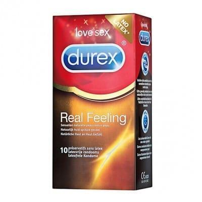 Kondomi Durex Real Feeling 10