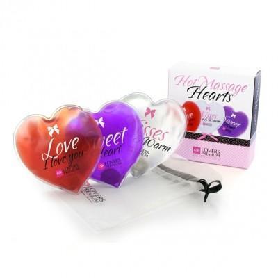 Vroča masažna srca Lovers Premium