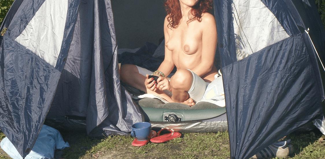 Ljubljenje v šotoru