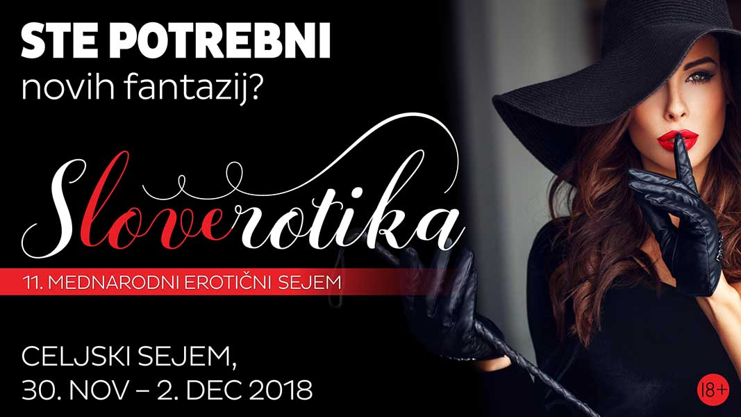 Slovenski erotični sejem – sLOVErotika 2018